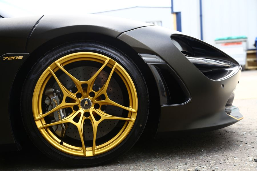Powered Coated Alloy Wheels for McLaren Cars