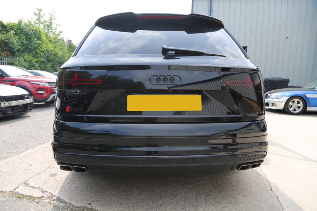 Audi SQ7 Black Badges and Rear Lights Tinting for Huddersfield Town Footballer Tommy Smith