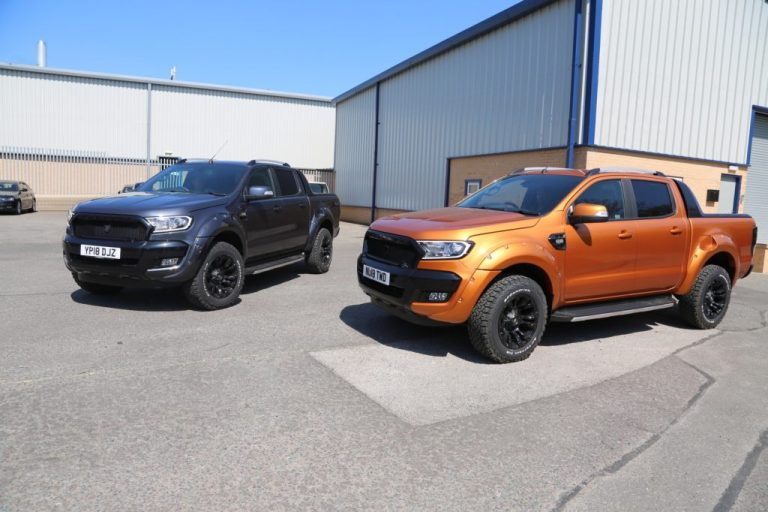 Ford Ranger Wildtrak Twins with Vehicle Wrap, Privacy Glass and Powder Coated Alloy Wheels